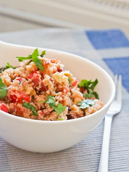 Mediterranean Quinoa Bowl Recipe — Dishmaps