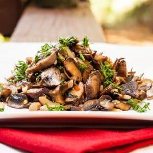 Mushroom-Saute